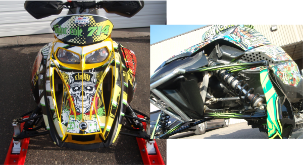 snowmobile wrap